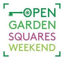 Open Garden Squares Weekend logo